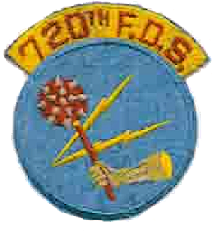 720th Bombardment Squadron - Tactical Air Command 720th Fighter-Day Squadron emblem