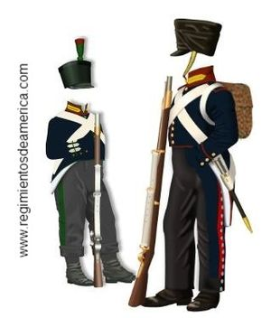 Army of the Andes -  7º Regiment