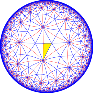 Truncated trioctagonal tiling - Image: 832 symmetry 000