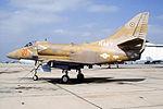 A-4E Skyhawk of VF-126 at NAS Miramar in 1992.JPEG