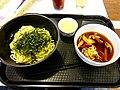 AKB48 Cafe & Shop Akihabara - Cafe, Shimazaki Haruka's Cheese Dipping Noodle (島崎遥香のチーズつけ麺) (2013-10-18 17.01.08 by Dick Thomas Johnson).jpg