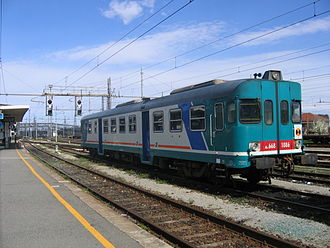 History of rail transport in Italy - ALn 668 DMU for local services