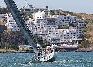 ARA Fortuna III under sail