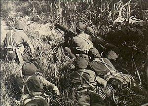 52nd Battalion (Australia) - A machine-gun crew from the 37th/52nd Battalion in New Guinea, 1944