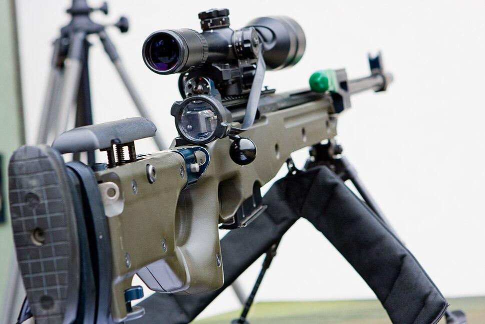 AW G22 Arctic 7.62mm Sniper Rifle