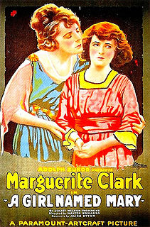 <i>A Girl Named Mary</i> 1919 film by Walter Edwards