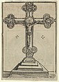 A Silver-Gilt Cross with Christ Crucified, from the Wittenberg Reliquaries MET DP842103.jpg