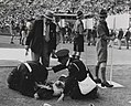A casualty at the Olympic Games, London, 1948. (7649953728).jpg