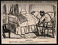 A man very ill in bed, his doctor recommends sending for his Wellcome V0011392.jpg