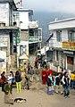 A streetscene in McLeod Ganj, Himachal Pradesh.jpg