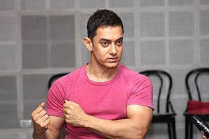 Satyamev Jayate (TV series) - Aamir Khan at Satyamev Jayate press conference, 12 July 2012.