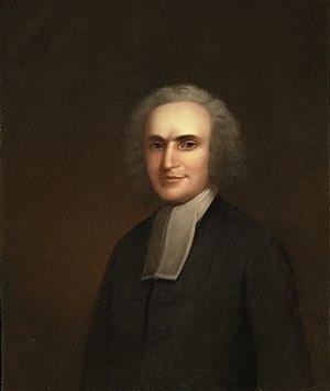 Aaron Burr Sr. - Edward Ludlow Mooney, Aaron Burr Sr. (1716–1757), President (1748–57), Princeton University Art Museum