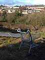 Abandoned shopping trolley, Barton - geograph.org.uk - 1162665.jpg