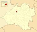 Abejar in Soria Province locator.png