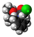 Acetochlor molecule spacefill.png
