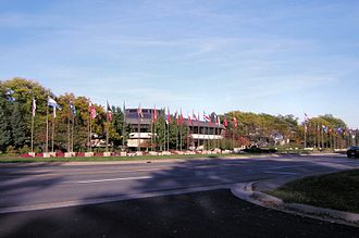 Amway - Headquarters in Ada, Michigan