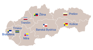 d3ce7886e Mapa samosprávnych krajov Slovenskej republiky