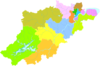 100px administrative division hangzhou