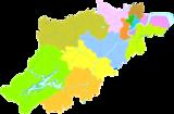 杭州市行政区划图