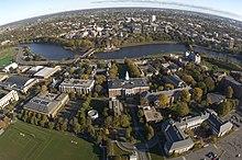 Гарвардської бізнес школи з повітря