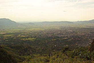 Morogoro - Aerial view