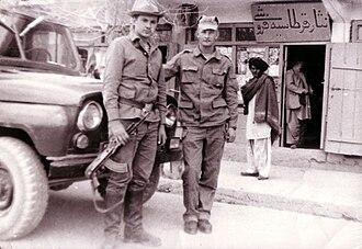 Panamanka - Soviet troops in Afghanistan