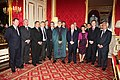 Afghan President Hamid Karzai with British business leaders (5488867705).jpg