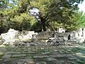 Agora of Hadrian which opens up into the city square in the centre of the city, Phaselis, Lycia, Turkey (9696140818).jpg