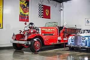 Ahrens-Fox Fire Engine Company - 1937 Ahrens-Fox Fire Engine at the Automotive Museum