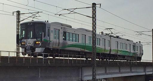 Ainokaze Toyama Railway 521 series