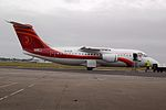 Air Annobón EI-RJS at Shannon Airport, Feb 2014.jpg