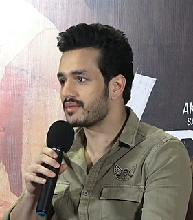 Akhil Akkineni Indian film actor