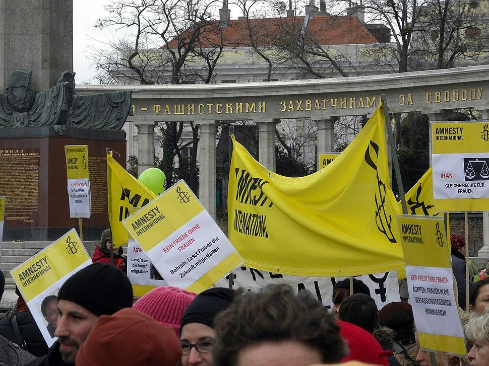 Aktionstag anlässlich des 100. Internationalen Frauentages - Amnesty International
