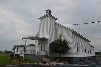 Delaware Township, Delaware County, Indiana - Riverview United Baptist Church