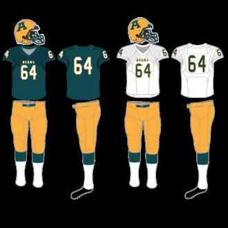 Alberta Golden Bears - Image: Alberta Golden Bears football uniform since 2014
