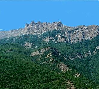 Mazandaran Province - Central Alborz mountain range in Mazandaran Province