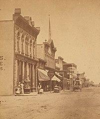 Downtown Albuquerque 1880