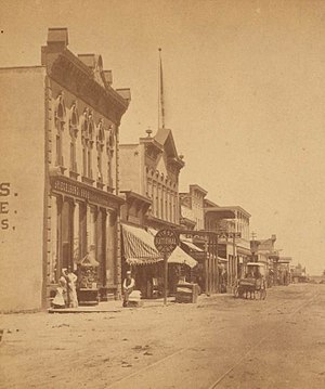 English: A photograph of Albuquerque, New Mexi...