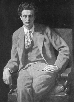 Painting of Huxley in 1927 by John Collier Aldous Huxley 1927.png
