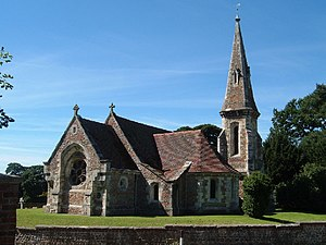 Aldwark, North Yorkshire - Image: Aldwark Church geograph.org.uk 40755