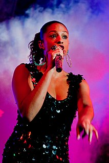 Alesha Dixon English singer, rapper, songwriter, dancer, author, model and television personality