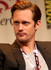 Alexander Skarsgard at the 2012 WonderCon.