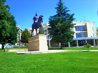 Giannitsa - A statue of Alexander the Great