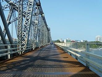 Alexandra Bridge - Crossing the Alexandra bridge from the Ottawa side