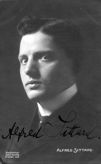 Mendelssohn Scholarship - Image: Alfred Sittard