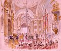 Alfred of Edinburgh's wedding by Nicholas Chevalier (1874) 2.jpg