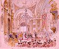 Alfred of Edinburgh's wedding by Nicholas Chevalier (1874) 2.jpg