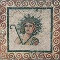 Algérie Bacchus Mosaïque romaine Cherchell.jpg