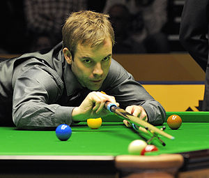 Ali Carter - Ali Carter at 2013 German Masters.