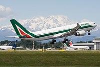 EI-EJG - A332 - Alitalia